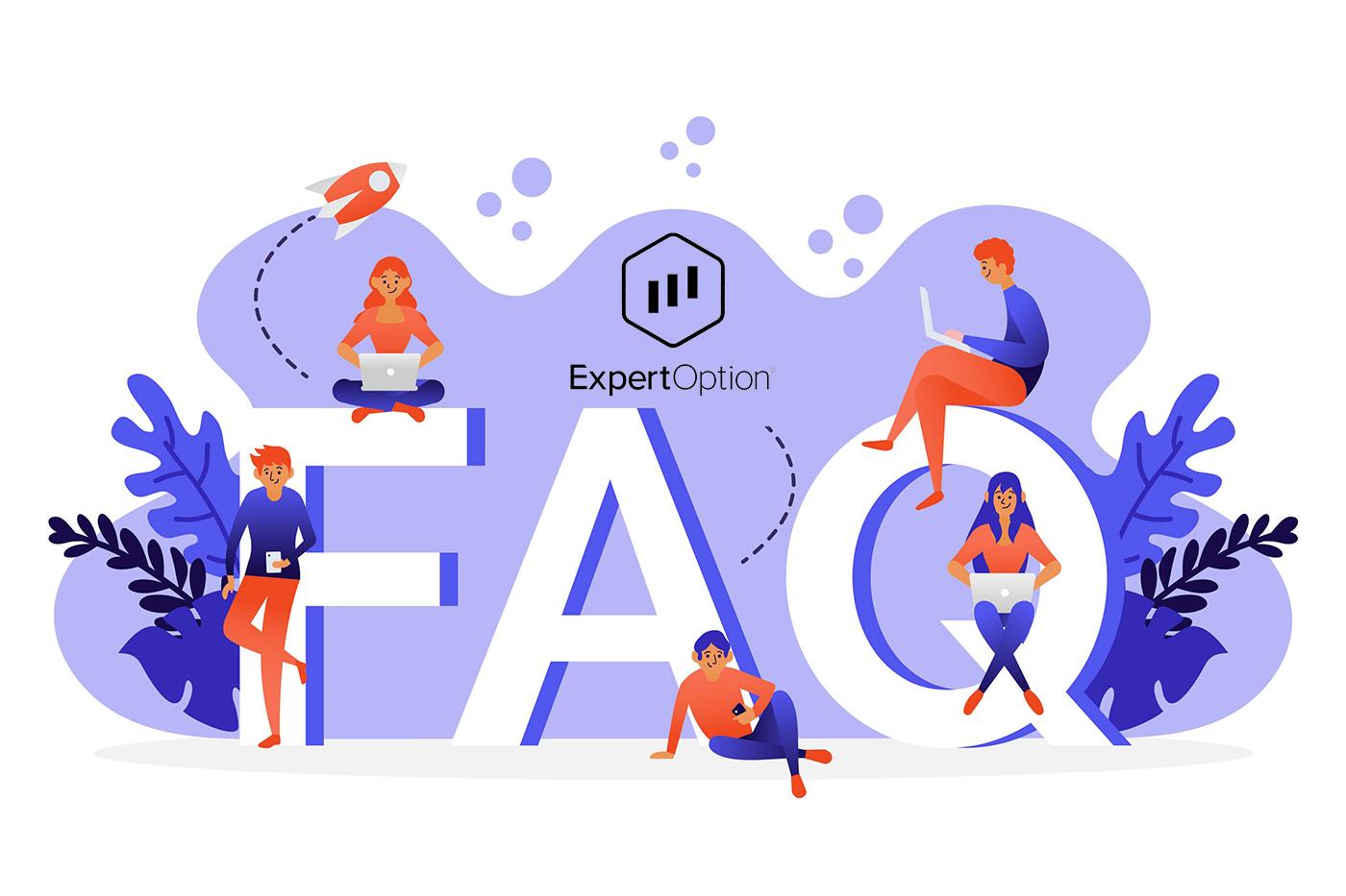 Perguntas frequentes do ExpertOption (FAQ)