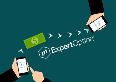Como sacar dinheiro de ExpertOption