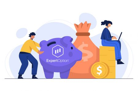 Como se inscrever e depositar dinheiro na ExpertOption