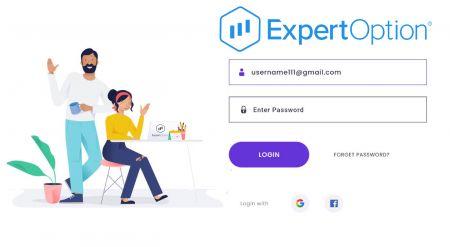 Como registrar uma conta no ExpertOption