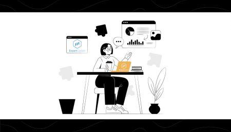 Como abrir uma conta de negociação e registrar-se no ExpertOption