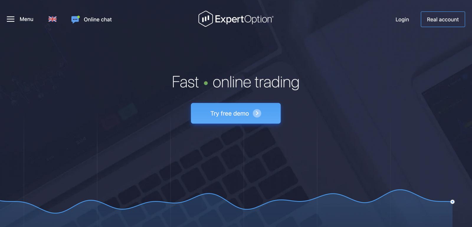 Análise ExpertOption